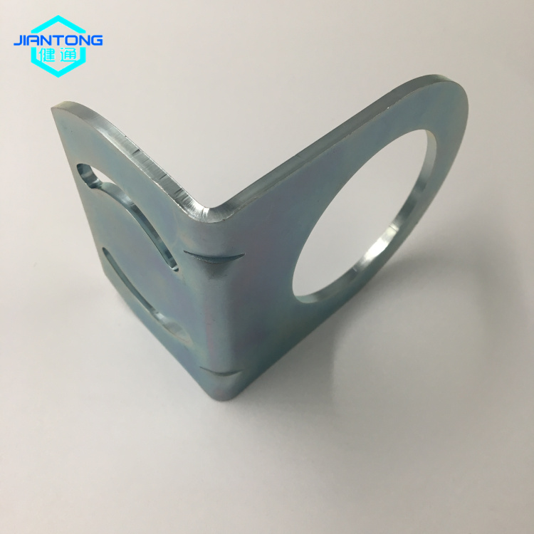 Customized L shaped bracket steel stamping parts (5)