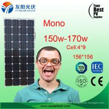Hot Sale Mono Solar Panel 150W 160W 170W in Stock
