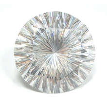 Joyas piezas-Cubic Zirconia cóncavo corta piedras preciosas
