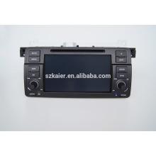 Quad-Core-Auto GPS-Navigation mit Wireless-Rückfahrkamera, Wi-Fi, BT, Spiegel-Link, DVR, Dual Zone, SWC für BMW E46
