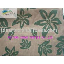 Polyester Slubbed Flocked Fabric for Hometextile