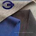 automne pantalon sport manteau tissu 50D 32Gauge serré en tricot interlock lié avec 75D144F DTY microfibre polaire tissu