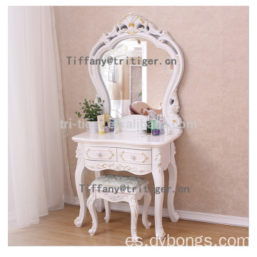 Factory luxury Cheap Wooden Dresser With Mirror