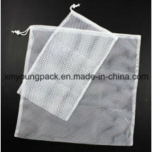 Werbeartikel White Mesh Wäschebeutel Nylon Net Bag