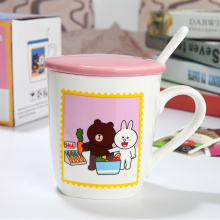 Creative Cute Ceramic Milk Mugs for Breakfast