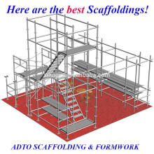 hot dipped galvanized cuplock scaffolding system