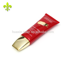 35ml Custom red BB cream cosmetic packaging tube with screen printing
