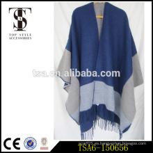 Tamaño grande bufandas al por mayor / al por mayor bufandas mujeres invierno pashmina poncho Calidad de la elección