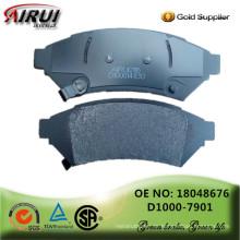 Scheibenbremsbeläge, OE Qualität, Hersteller heiße Verkäufe Selbstteile (OE: 18048676 / D1000-7901)