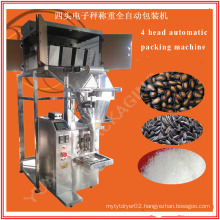 Automatic 4 Heads Filling Machine for Particle and Granular