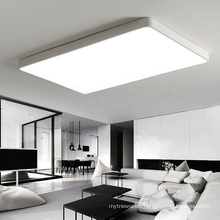 Modern Dimmable Surface Mounted Acrylic Led Ceiling Panel Lights For Living Room