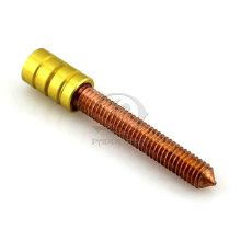Colorido M4 cobre tatuagem máquina parafuso de contato