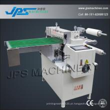 Fita adesiva e máquina de corte de laminação de filme de PVC com transportador