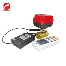 Моторизованный ПВХ шаровой клапан электрический привод