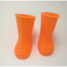 Chaussures antidérapantes pour chien de pluie en caoutchouc ilicone