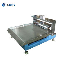 Gute Qualität Guide Loch Stanzmaschine für PVC, PETG und ABS-Platten