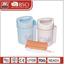 Runde Kunststoff Lunch-Box