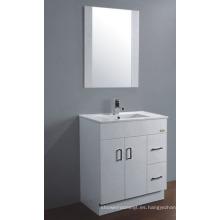 Gabinete de baño de PVC de 75cm (P-067)