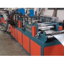 Amortiguador de fuego galvanizado de la hoja de acero que hace la máquina
