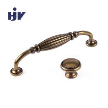 Антикварная бронзовая миниатюрная ручка для шкафа в европейском стиле