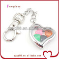 Fashion Stainless Steel metal keychain