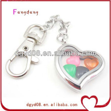 2014 new design stainless steel metal key chain lockets