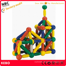 Vibrant Assorted Rainbow Colors   Construction Toy