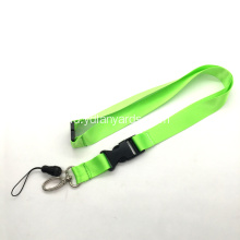 Smooth High Quality Nylon Blank Lanyard