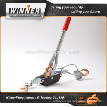 Red Hand puller with two strong gears and hooks