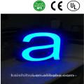Chine Fabricant acrylique lumineux lumineux de signalisation de lettre de la Manche
