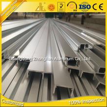 Zhl Factory 6063 T5 De Alumínio U Perfil