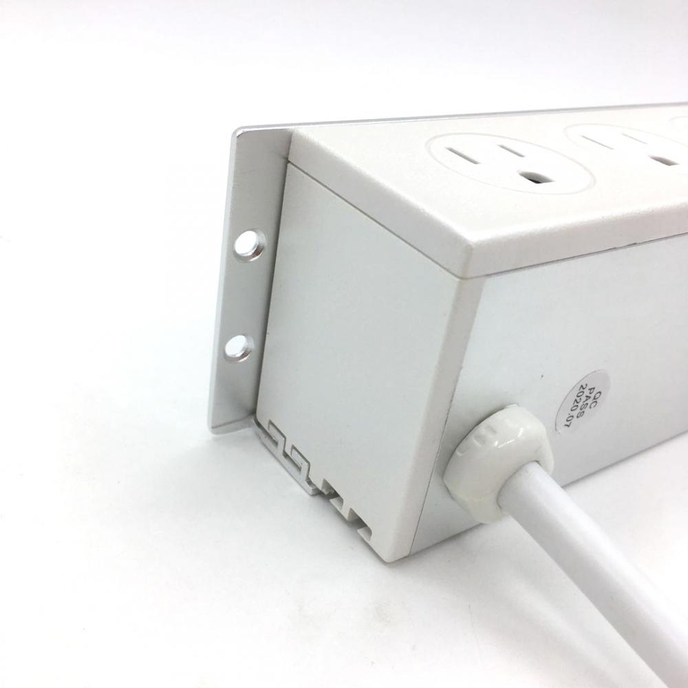 3 Sockets Power Outlet with USB Ports