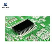 circuit imprimé de doigt d'or