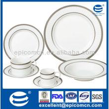 Household utensils China, Household Utensils manufacturer 42pcs grace silver design
