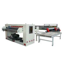 Long lifespan single face corrugated paper board making machine