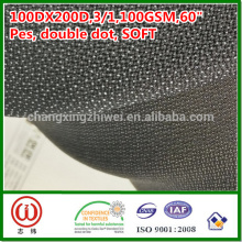 100%polyester soft handfeel 100gsm woven fusible interlining