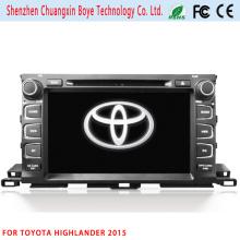 2DIN reproductor de DVD / MP4 para Toyota Highlander 2015
