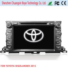 2DIN Car DVD/MP4 Player for Toyota Highlander 2015