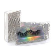 SL007H Hitomi Fashionable 3d Mink Eyelashes Long Eyelash soft natural mink eyelashes Fluffy 25mm Magnetic Mink Eyelashes