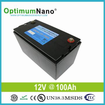 Batería de ciclo profundo LiFePO4 12V 100ah