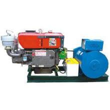 Generador diesel abierto de un cilindro de 15kw