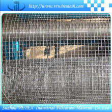 Malla cuadrada prensada usada en la construcción