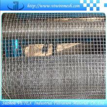 Treillis métallique carré serti utilisé dans la construction