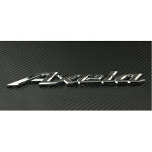Competitive Price ABS Car Static Sticker 3D Car Badge Sticker Decal Emblem Chromed ABS Chromed Car Emblem