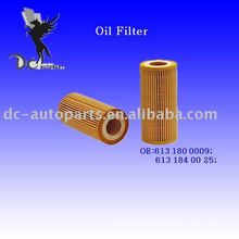 Elemento de Filtro de Óleo Inserir 613 180 0009 para Mercedes-Benz