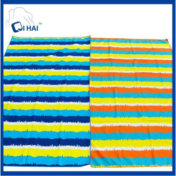 Quick Dry Microfiber Suede Sports Beach Towel (QHAC5561)