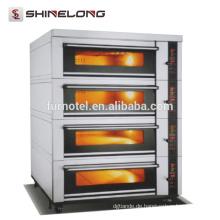 Kommerzielle Hotel-Küchen-Ausrüstung 4-Schicht 16-Tray-elektrischer Plattform-Ofen-Preis