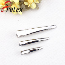 Pointed-End of Crocodile Clip for DIY, Silver Colour with Different Sizes