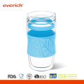 Промоциональная термостойкая двойная стеновая стеклянная чашка для воды оптом