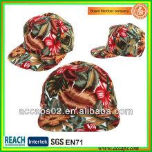 Chapeaux snapback en fleurs personnalisés SN-2251